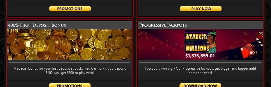 Lucky Red Casino - US Players Accepted!
